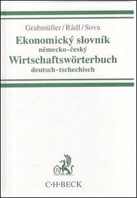 Ekonomický slovník německo-český Wirtschaftswörterbuch deutsch-tsechitsch
