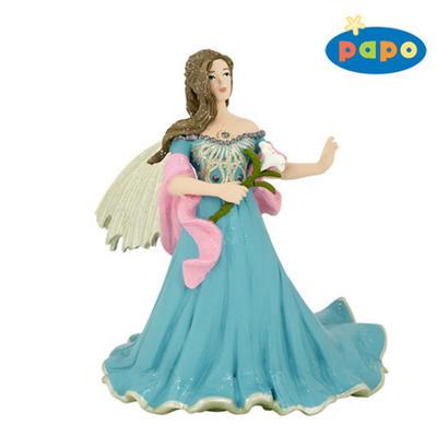 Obrázok Elfka v modrém s lilií