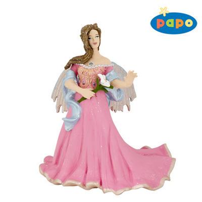 Obrázok Elfka v růžovém s lilií