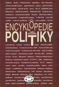 Obrázok Encyklopedie politiky