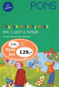 Obrázok English Activity Book Rok s Lucy a Fipsem
