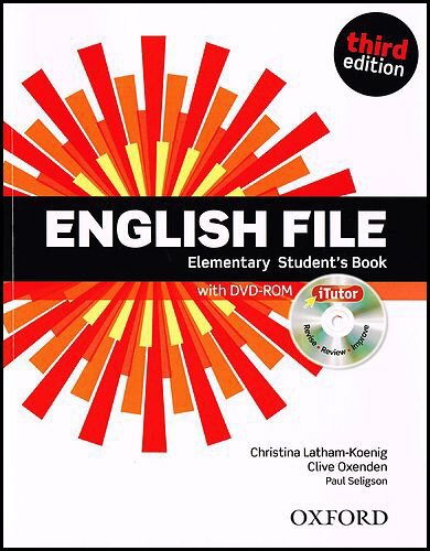 English File Elementary Student´s Book + iTutor DVD-ROM - Paul Selingson, Christina Latham-Koenig, Clive Oxenden