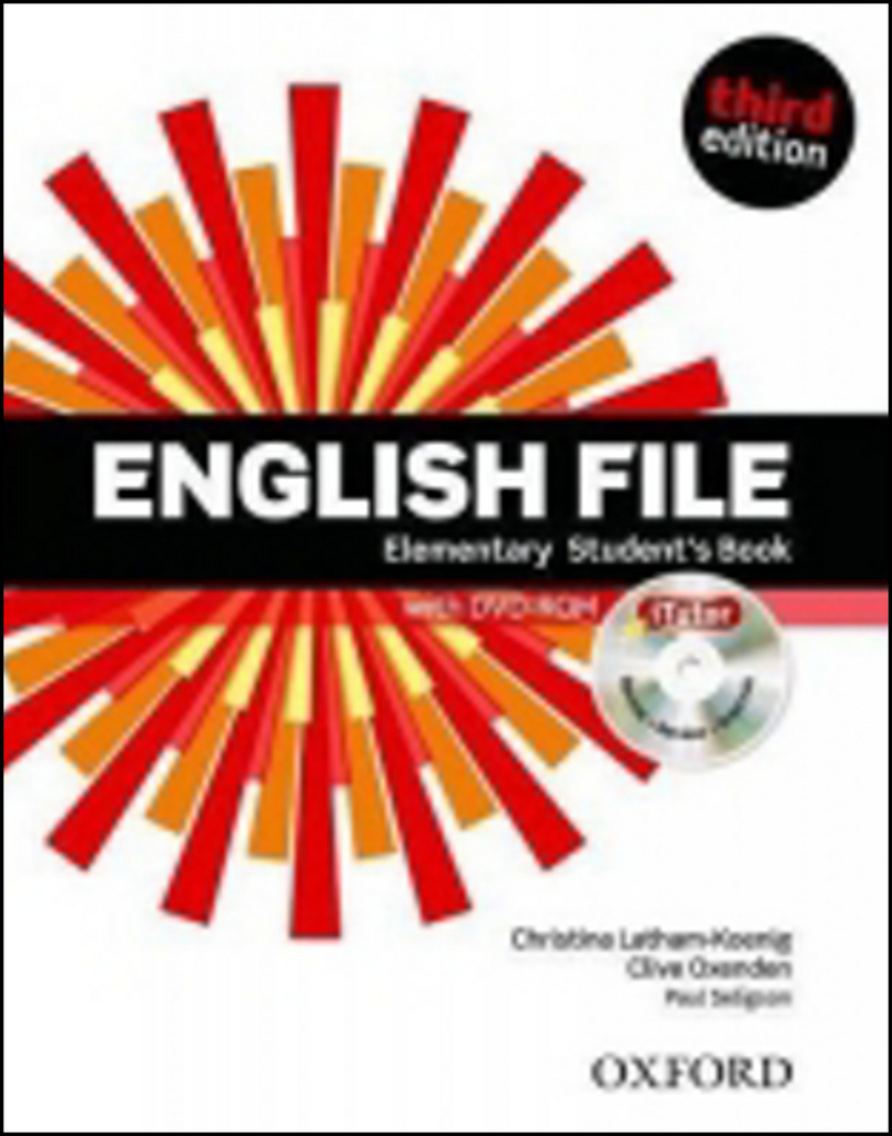 English File Elementary Student´s Book + iTutor DVD-ROM Czech Edition - Clive Oxenden, Christina Latham-Koenig, Paul Selingson
