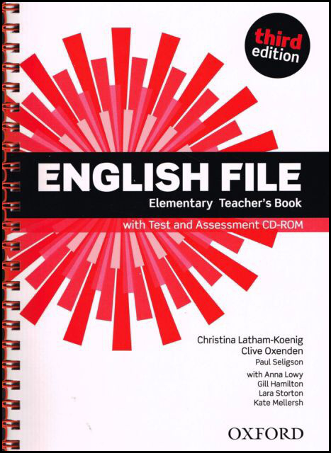 English File Elementary Teacher´s Book with Test and Assessment CD-ROM - Clive Oxenden, Christina L