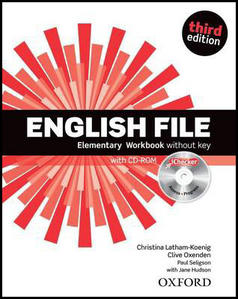 Obrázok English File Elementary Workbook + iChecker CD-ROM
