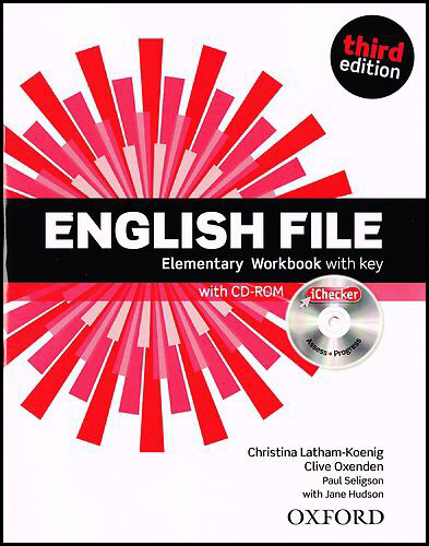 English File Elementary Workbook with key + iChecker CD-ROM - Clive Oxenden, Christina Latham-Koenig, Paul Selingson