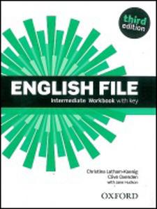 Obrázok English File Intermediate Workbook with key