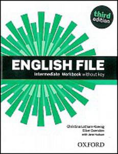 Obrázok English File Intermediate Workbook without key