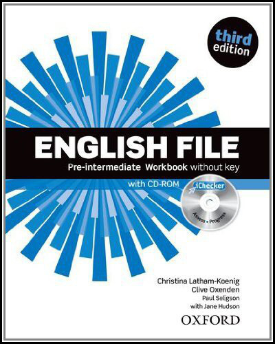 English File Pre-Intermediate Workbook without key + iChecker CD-ROM - Clive Oxenden, Christina Lath