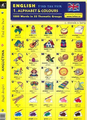 Obrázok English - Find the Pair 1. Alphabet & Colours