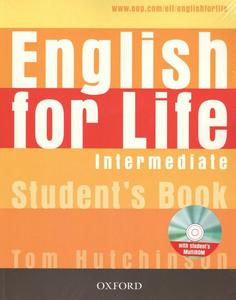 Obrázok English for Life Intermediate Studenťs Book + Multirom Pack