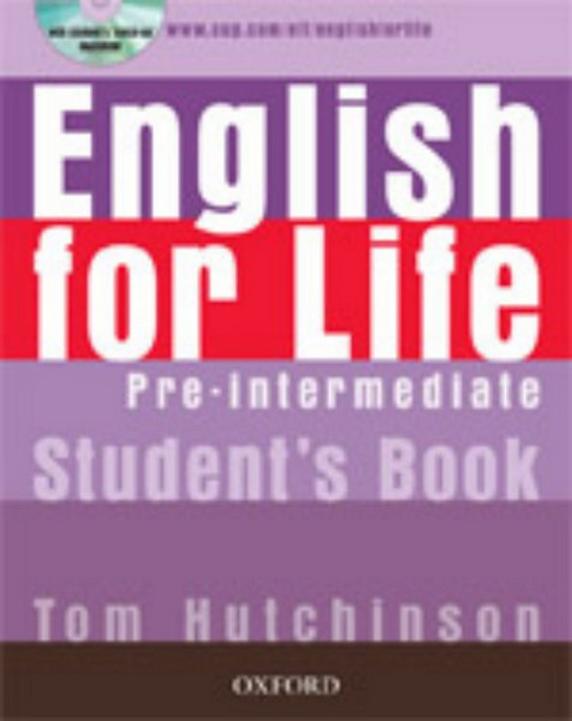English for life Pre-Intermediate Studen´s book + MultiROM Pack - Tom Hutchinson