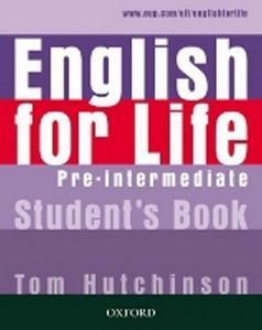 Obrázok English for life Pre-Intermediate Student´s book
