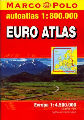 Obrázok EURO ATLAS 1:800 000