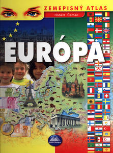 Obrázok Európa Zemepisný atlas
