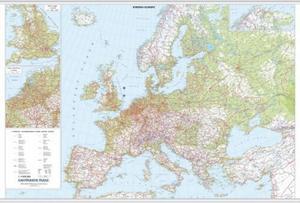 Obrázok Evropa nástěnná automapa