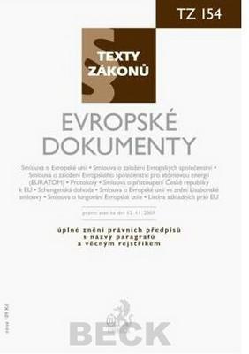 Obrázok Evropské dokumenty, právní stav k 15. 11. 2009