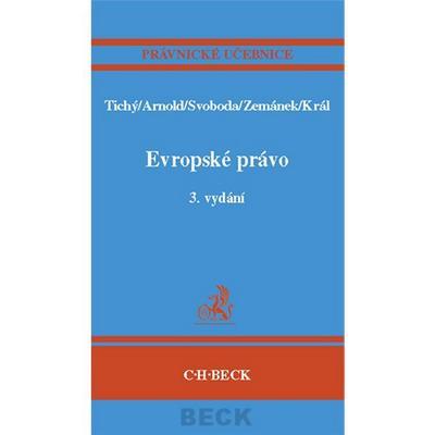 Evropské právo 3. vydání