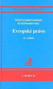 Obrázok Evropské právo 4. vydání