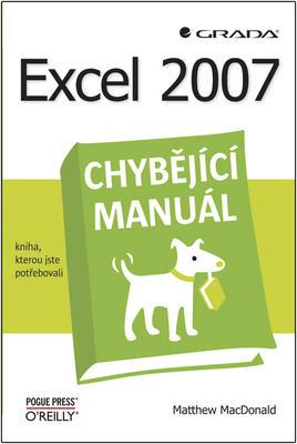 Obrázok Excel 2007 chybějící manuál