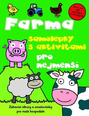 Obrázok Farma samolepky s aktivitami pro nejmenší