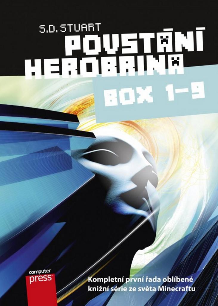 Povstání Herobrina 1-9 BOX (Dobrodružství Minecraftu) - S.D. Stuart