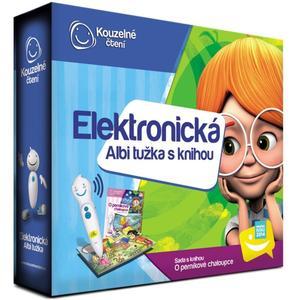 Elektronická Albi tužka s knihou O perníkové chaloupce