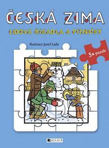 Obrázok Česká zima Lidová říkadla a písničky (5x puzzle)