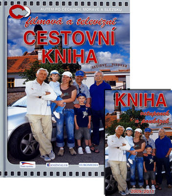 Obrázok Filmová a televizní cestovní kniha + DVD