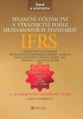 Obrázok Finanční účetnictví a výkaznictví podle mezinárodních atandardů IAS/IFRS