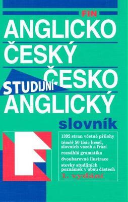 FIN Anglicko český česko anglický slovník Studijní