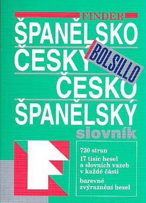 FIN Španělsko český česko španělský slovník Bolsillo