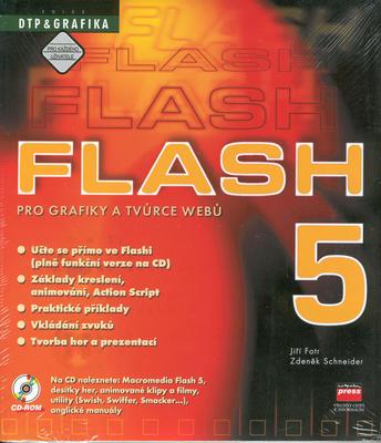 Obrázok Flash 5 pro grafiky a tvůrce webů + CD