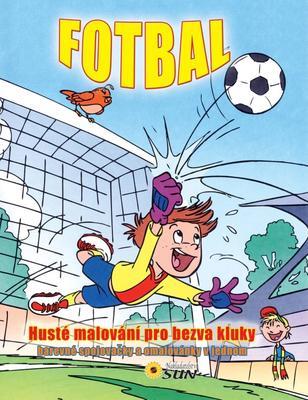 Obrázok Fotbal Husté malování pro bezva kluky