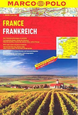Obrázok Francie/atlas-spirála 1:300T MD