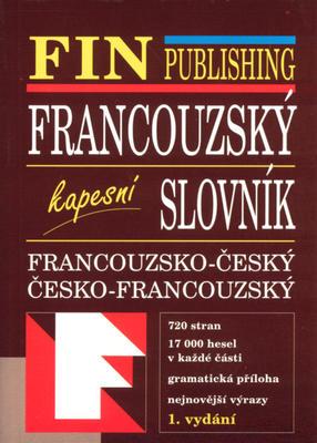 Obrázok Francouzsko - český česko - francouzský kapesní slovník