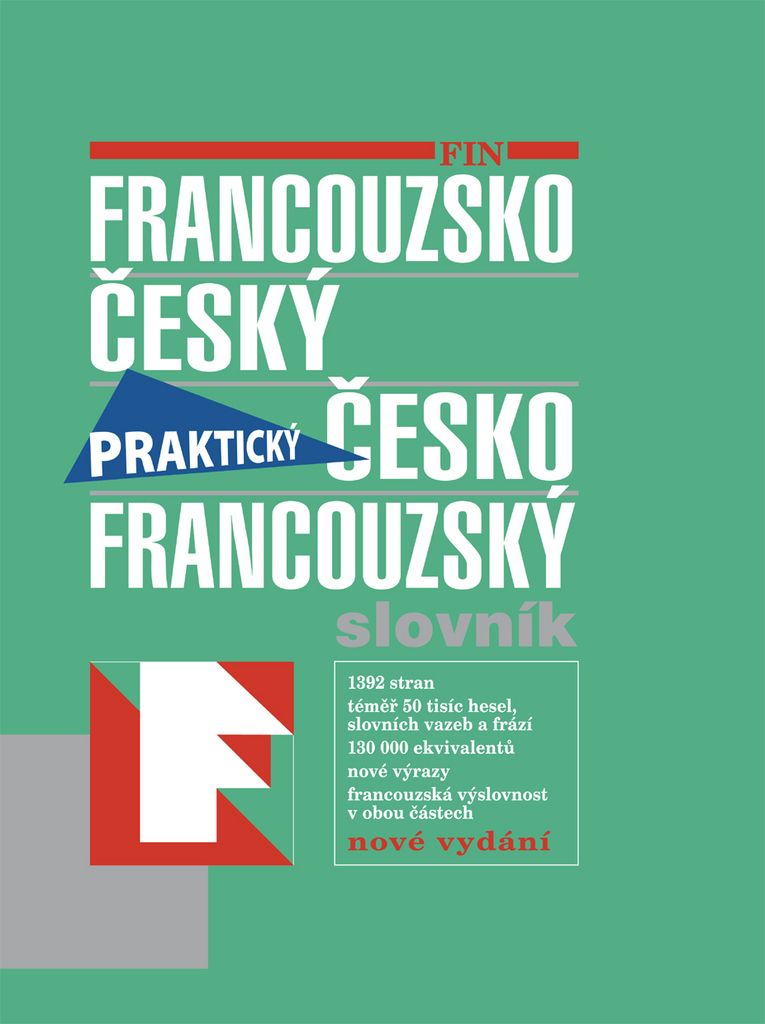 Francouzsko český česko francouzský slovník Praktický