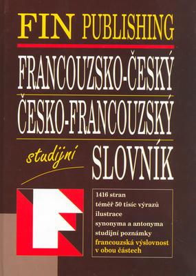 Obrázok Francouzsko - český, Česko - francouzský slovník studijní