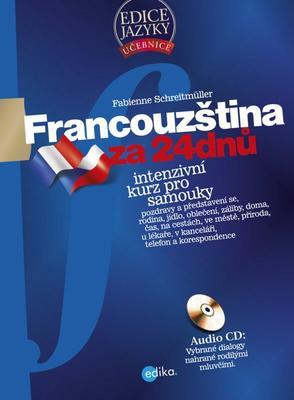 Obrázok Francouzština za 24 dnů + CD