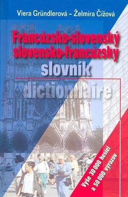 Obrázok Francúzsko-slovenský slovensko-francúzsky slovník