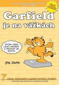Obrázok Garfield je na vážkách