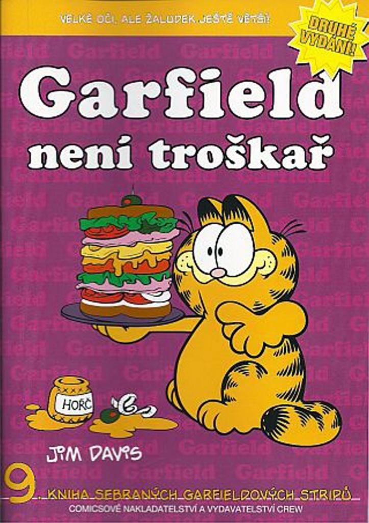 Garfield není troškař - Jim Davis