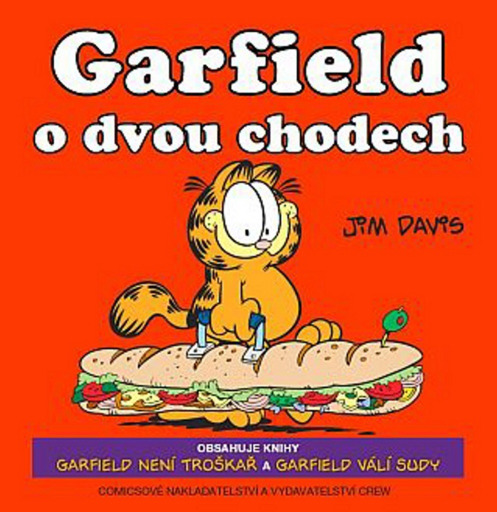 Garfield o dvou chodech č.9+10 - Jim Davis