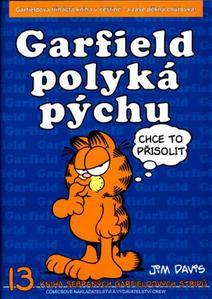 Obrázok Garfield polyká pýchu