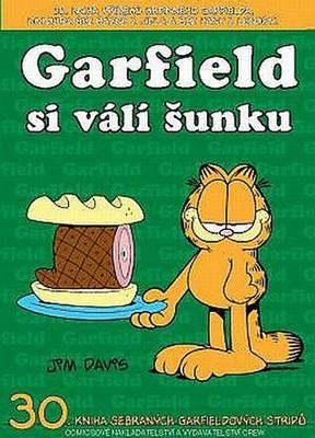 Obrázok Garfield si válí šunku