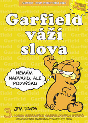 Obrázok Garfield váží slova