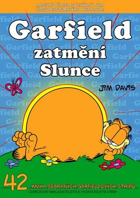 Obrázok Garfield zatmění Slunce