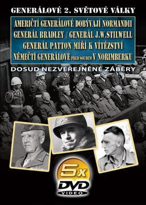 Obrázok Generálové 2. světové války II. 5 DVD