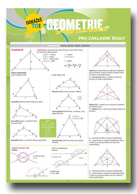Obrázok Geometrie pod lavicí pro základní školy Dokážeš to!