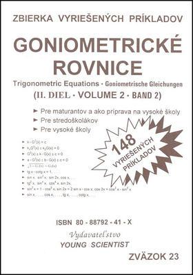 Goniometrické rovnice II. diel